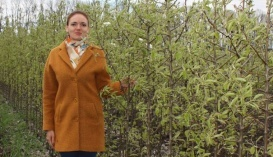 Президент Академії органічного садівництва Ekogarden, власниця розсадника плодових саджанців Валентина Лановенко