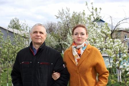 Семья Лановенко - Николай Васильевич и Валентина